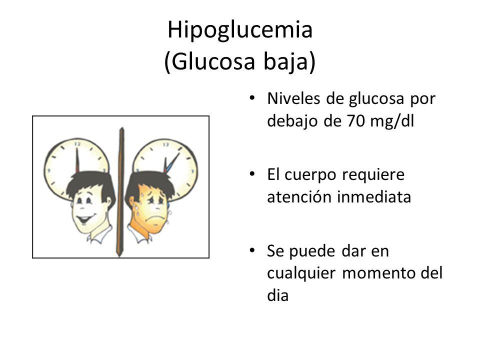 Hipoglucemia (Glucosa baja)