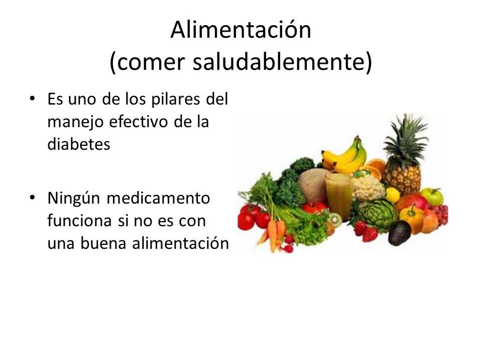 Alimentación (comer saludablemente)