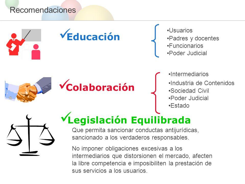 Legislación Equilibrada