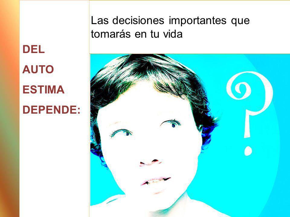 Las decisiones importantes que tomarás en tu vida