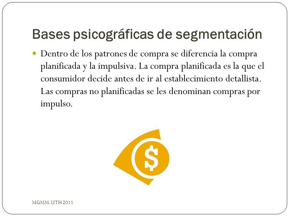 Bases psicográficas de segmentación