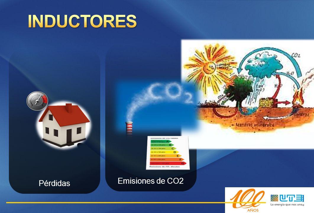 INDUCTORES Emisiones de CO2 Pérdidas