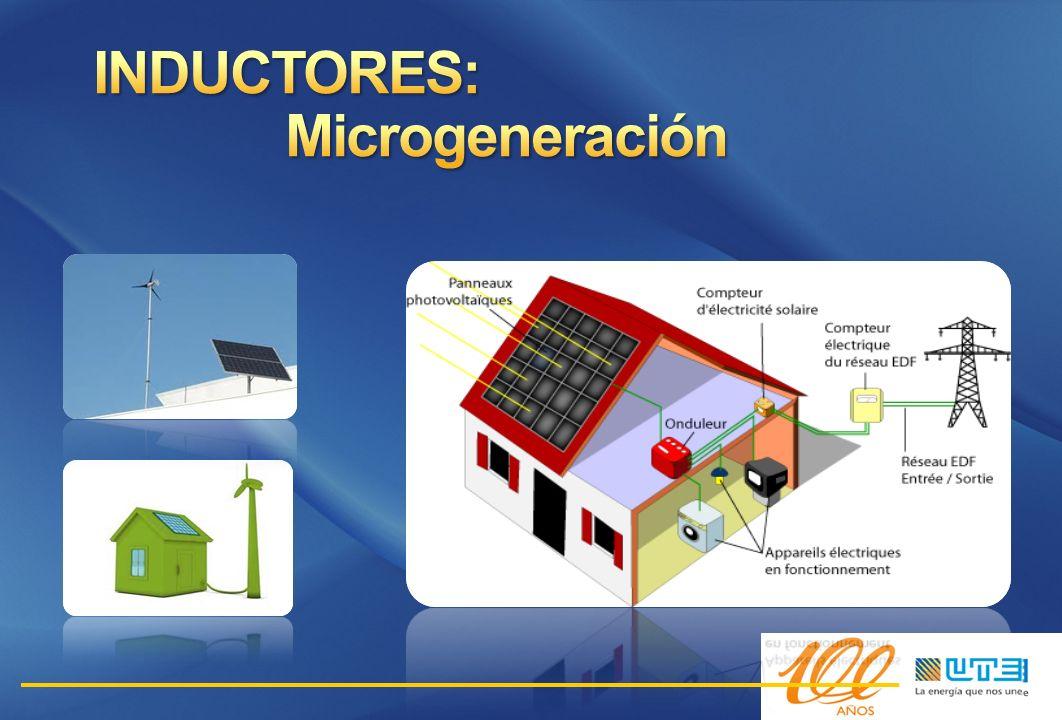 INDUCTORES: Microgeneración