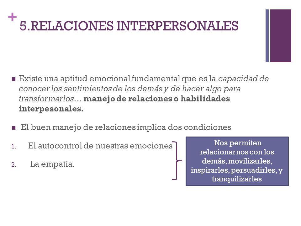 5.RELACIONES INTERPERSONALES