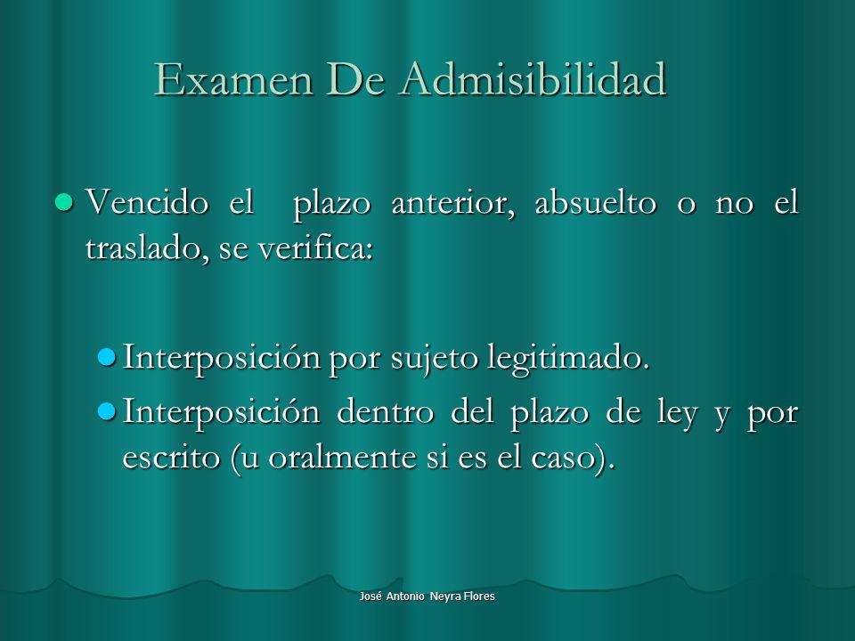 Examen De Admisibilidad