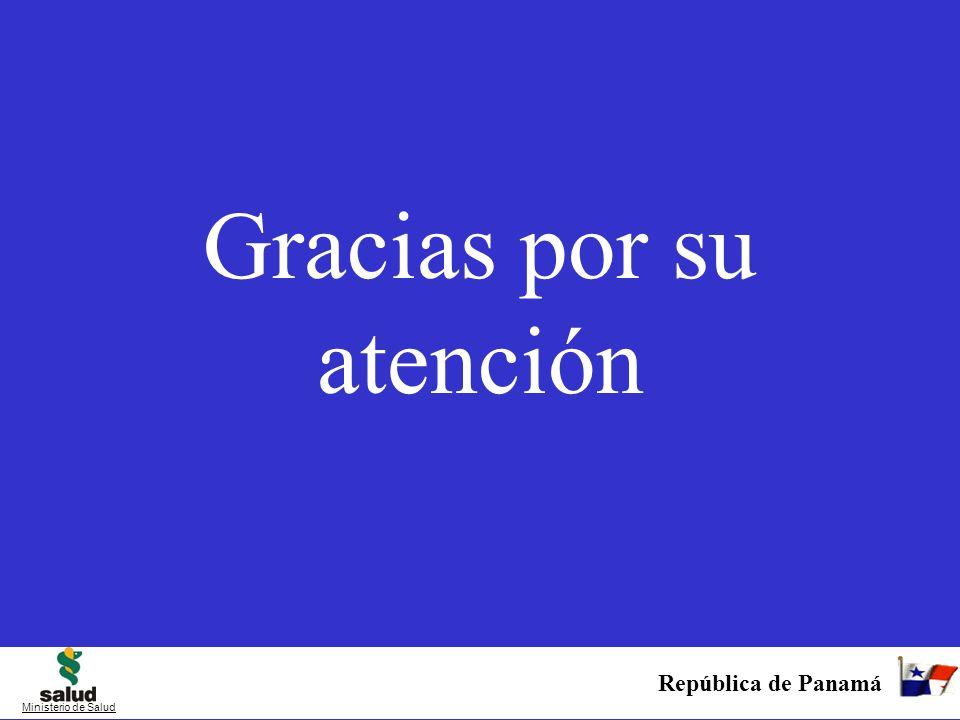 Gracias por su atención