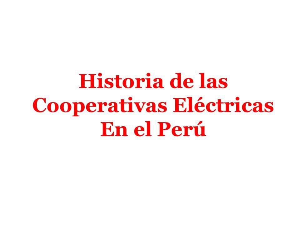Cooperativas Eléctricas