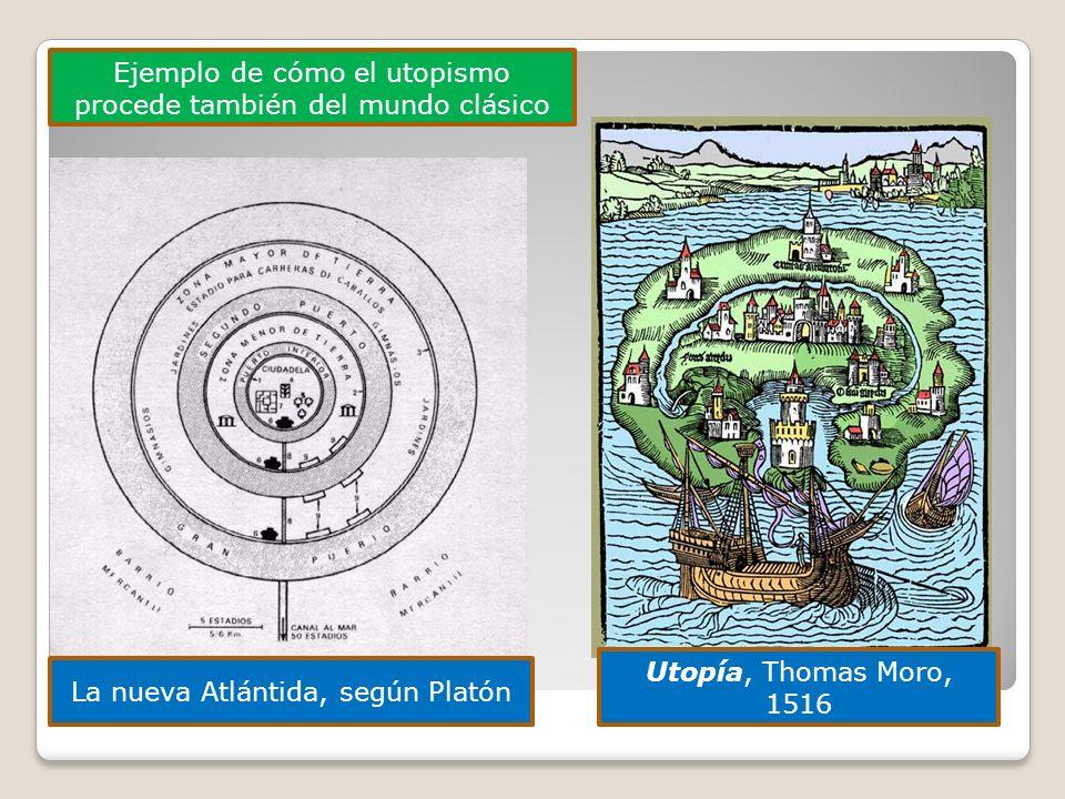 Ejemplo de cómo el utopismo procede también del mundo clásico