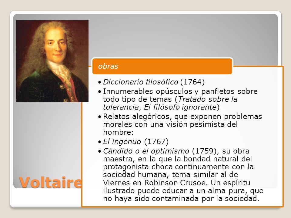 Voltaire obras Diccionario filosófico (1764)