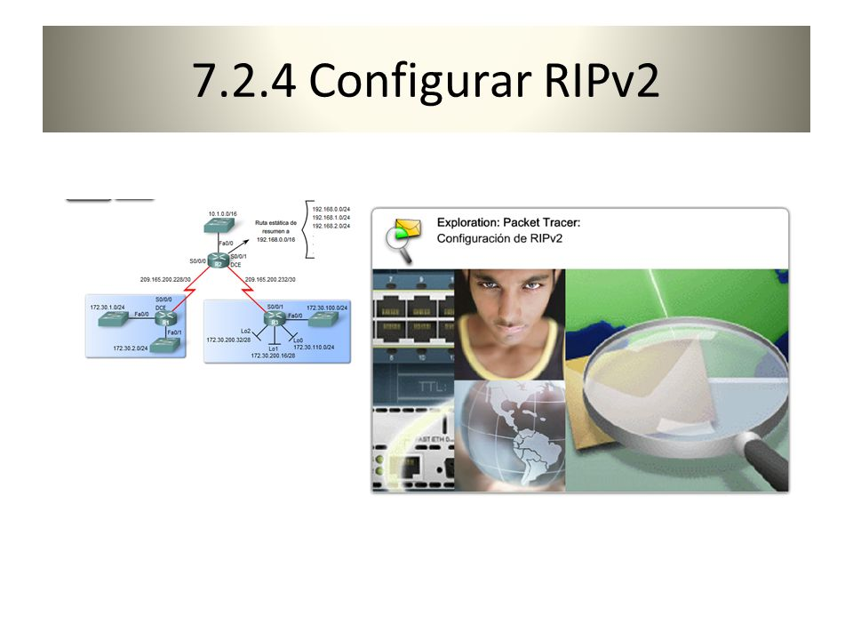 7.2.4 Configurar RIPv2
