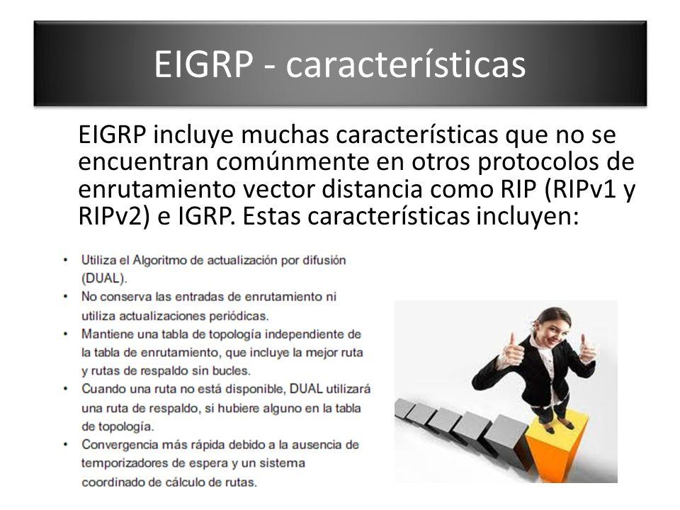 EIGRP - características