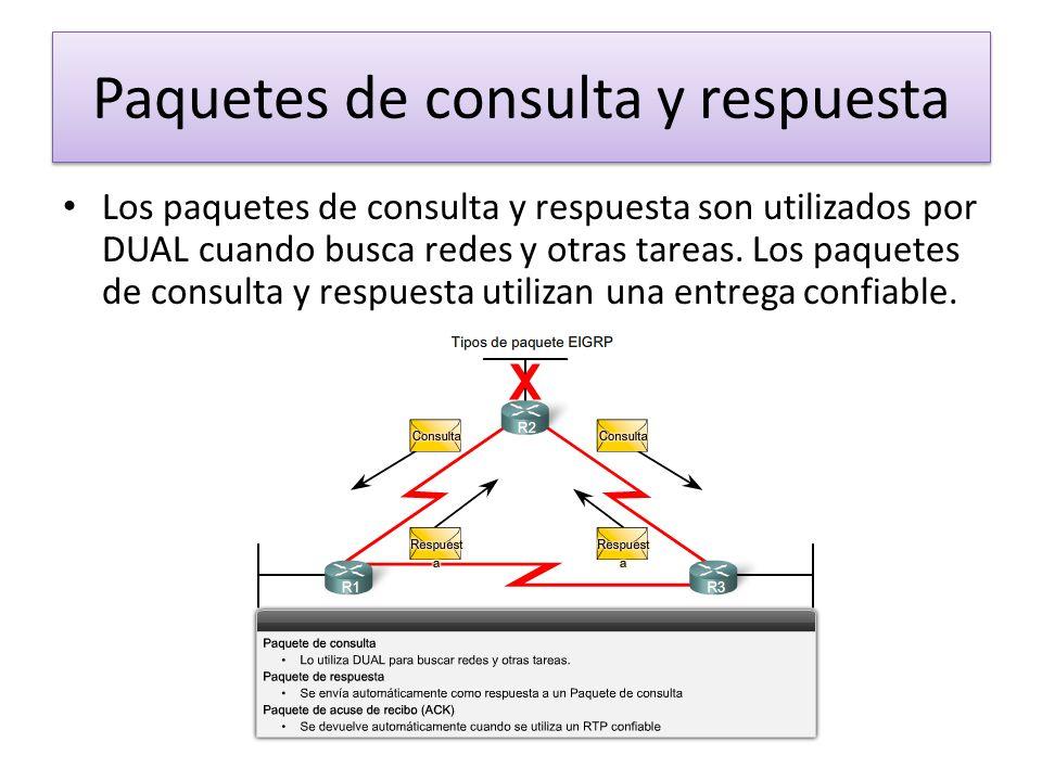 Paquetes de consulta y respuesta