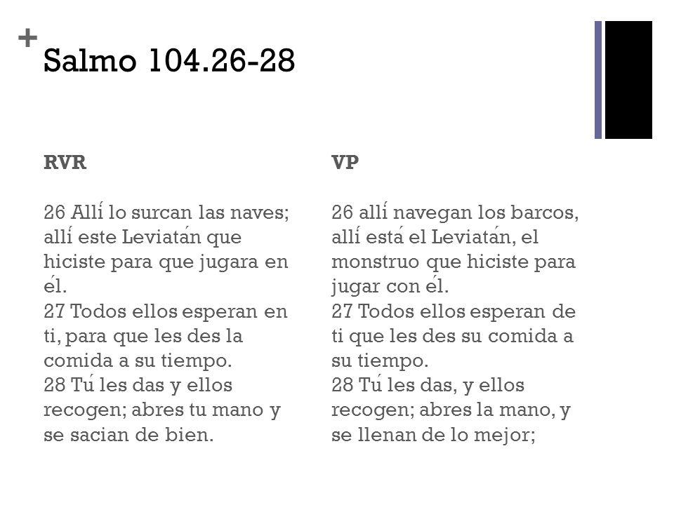 Salmo 104.26-28
