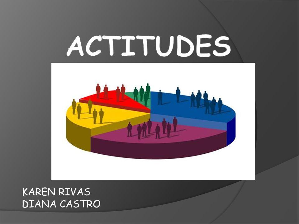 ACTITUDES KAREN RIVAS DIANA CASTRO
