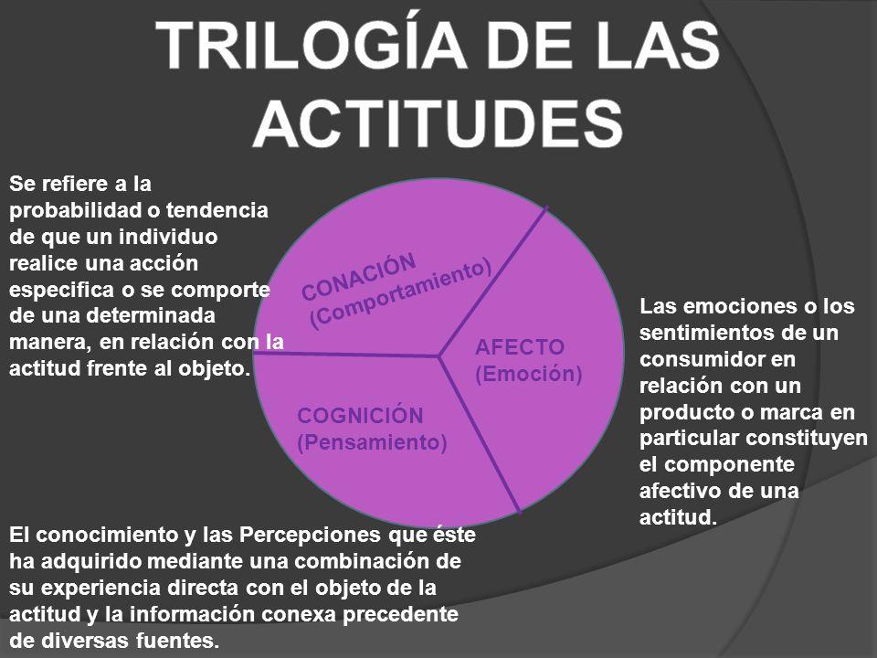 TRILOGÍA DE LAS ACTITUDES