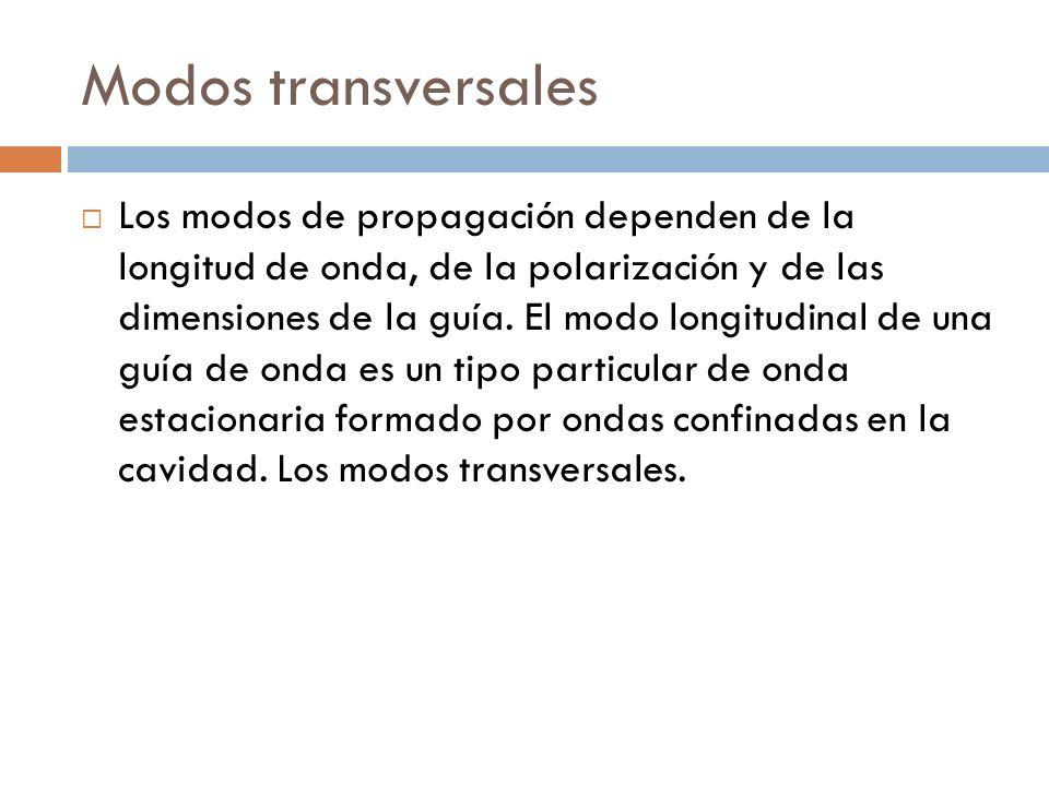 Modos transversales