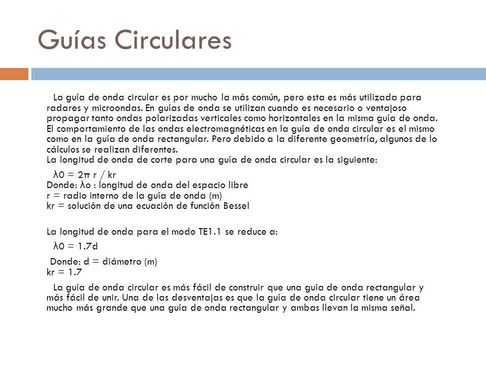 Guías Circulares