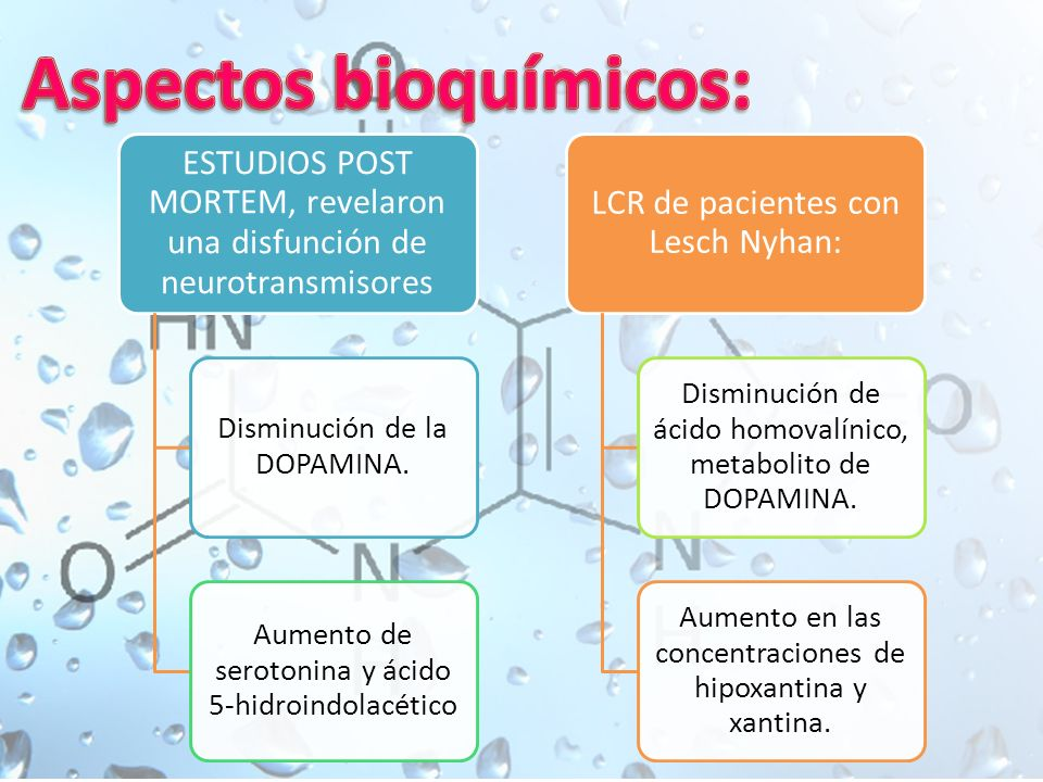 Aspectos bioquímicos: