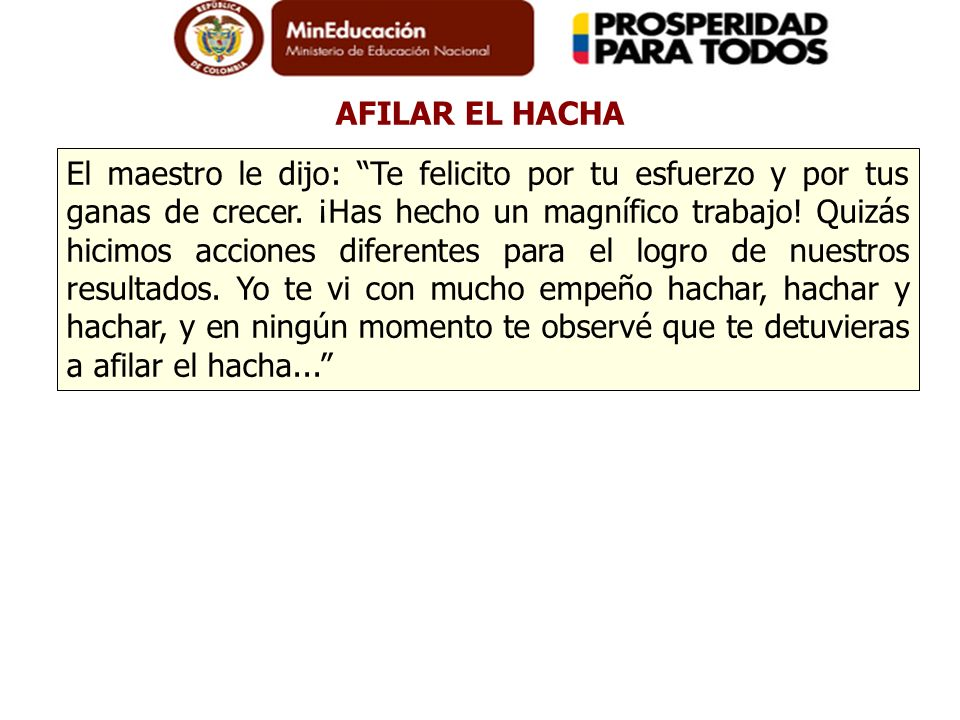 AFILAR EL HACHA