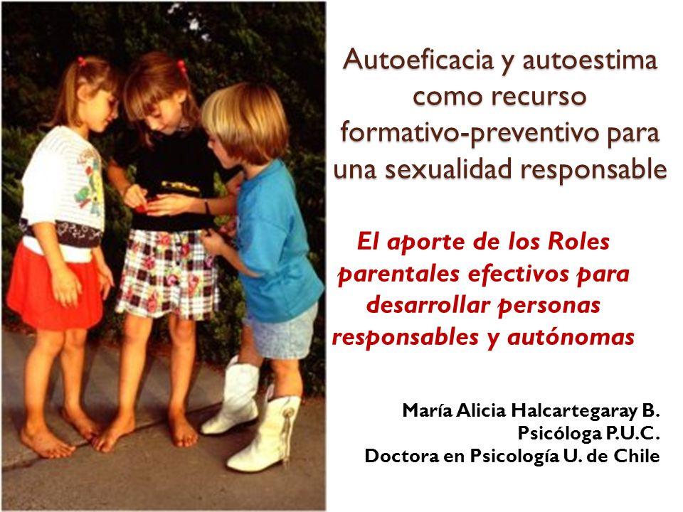 Autoeficacia y autoestima como recurso formativo-preventivo para una sexualidad responsable