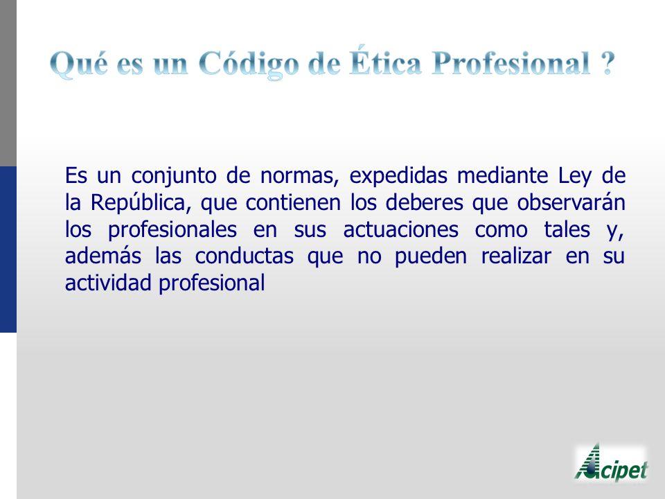 Qué es un Código de Ética Profesional