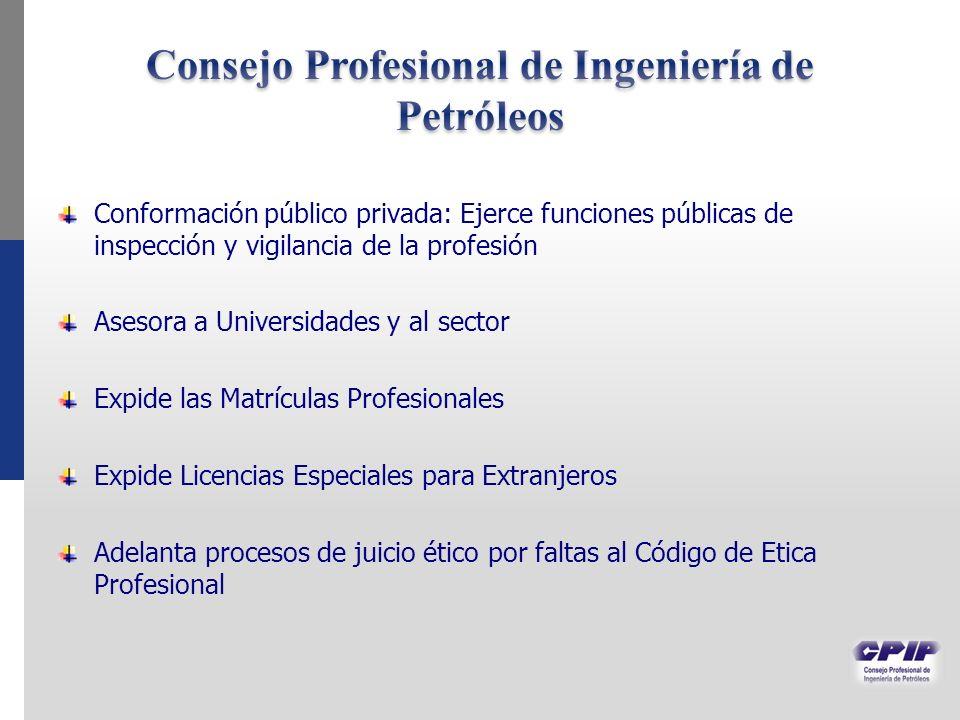 Consejo Profesional de Ingeniería de Petróleos