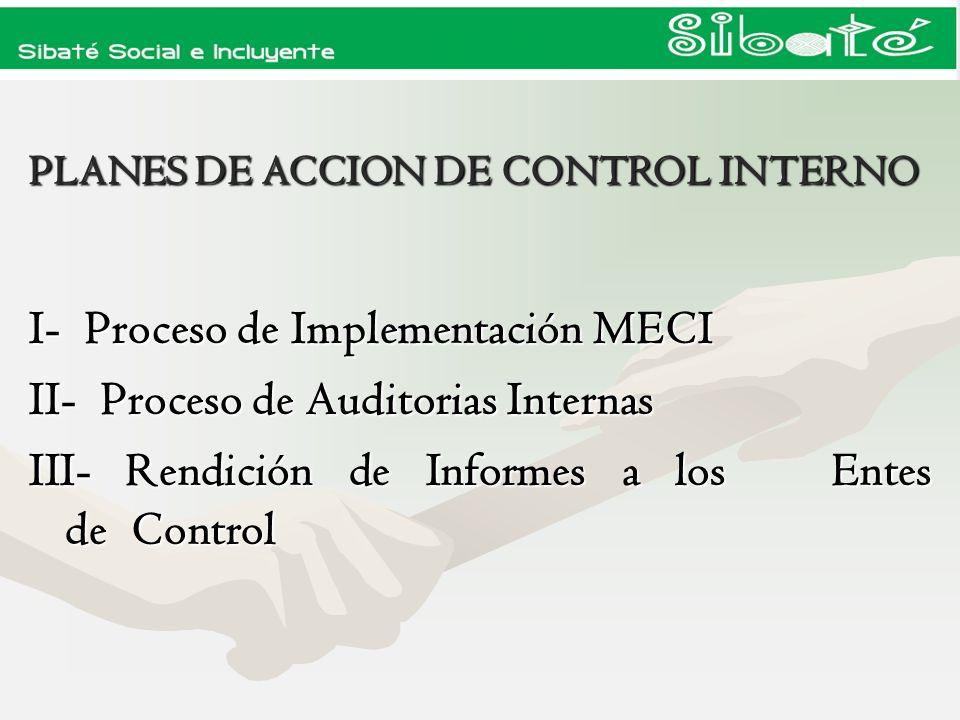 PLANES DE ACCION DE CONTROL INTERNO
