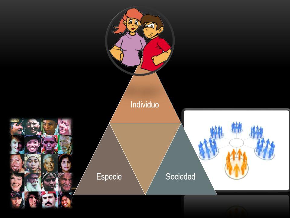 Individuo Especie Sociedad