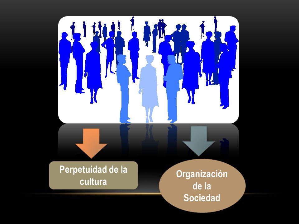 Organización de la Sociedad Perpetuidad de la cultura