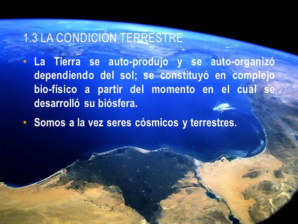 1.3 LA CONDICIÓN TERRESTRE