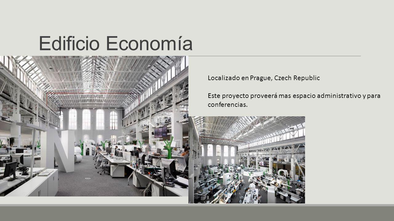 Edificio Economía Localizado en Prague, Czech Republic