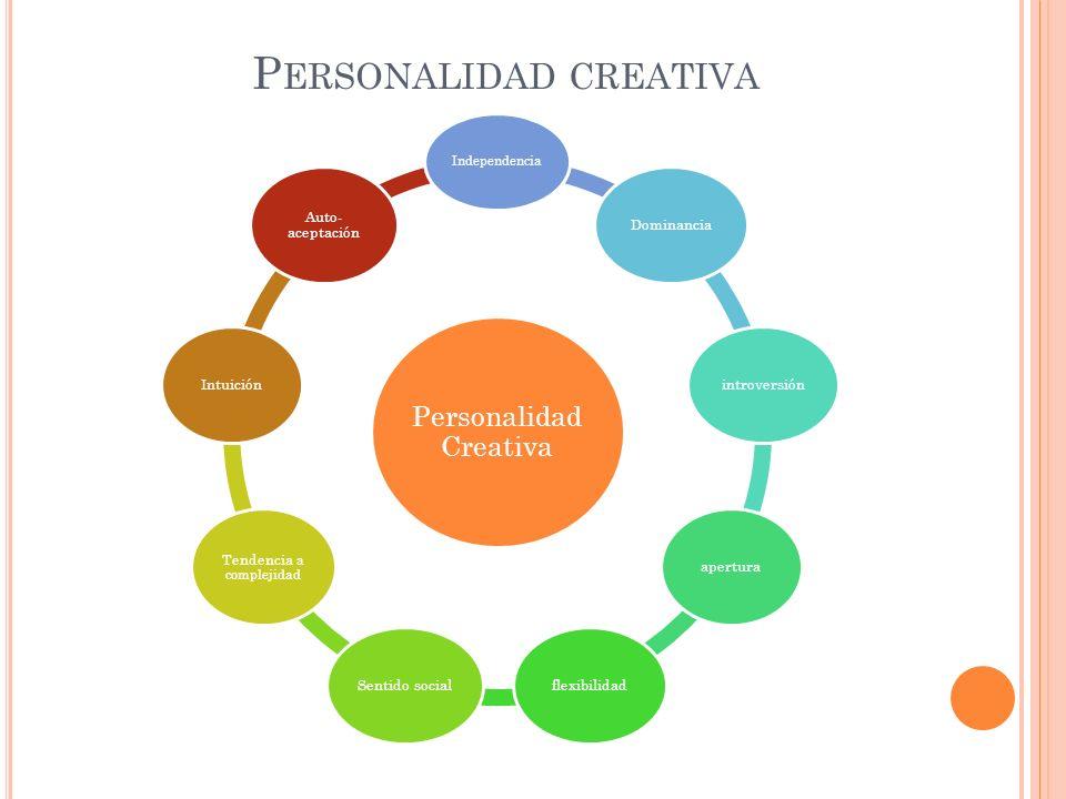 Personalidad creativa