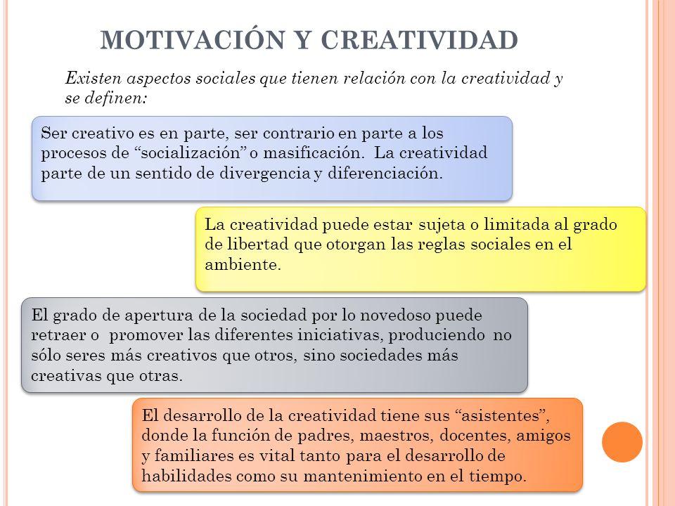 MOTIVACIÓN Y CREATIVIDAD