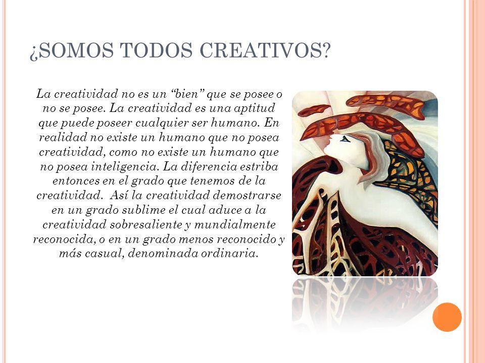 ¿SOMOS TODOS CREATIVOS