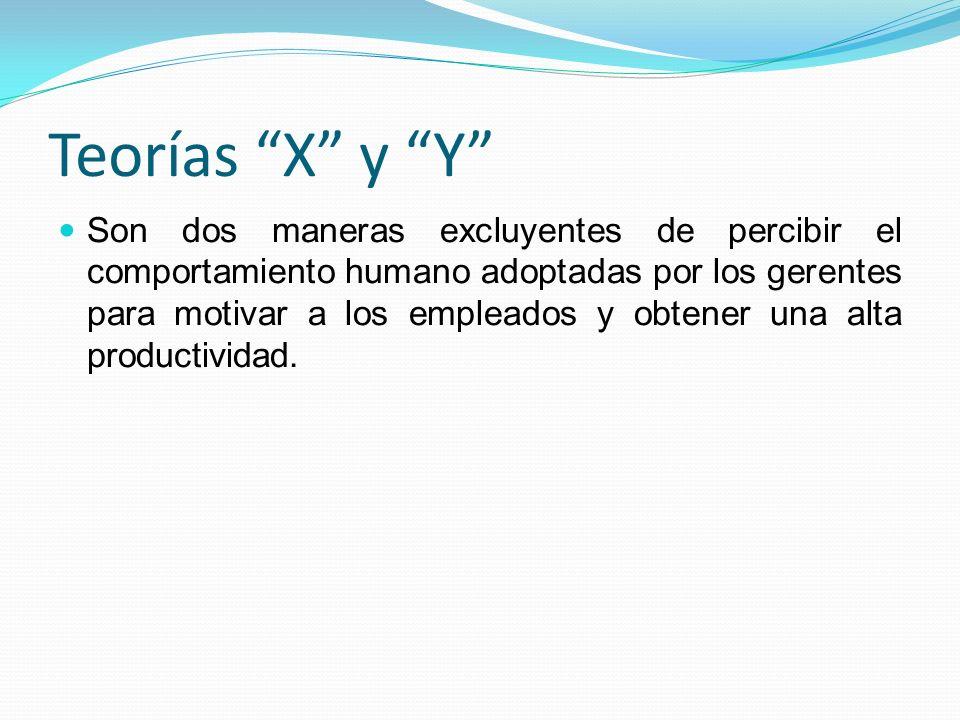 Teorías X y Y