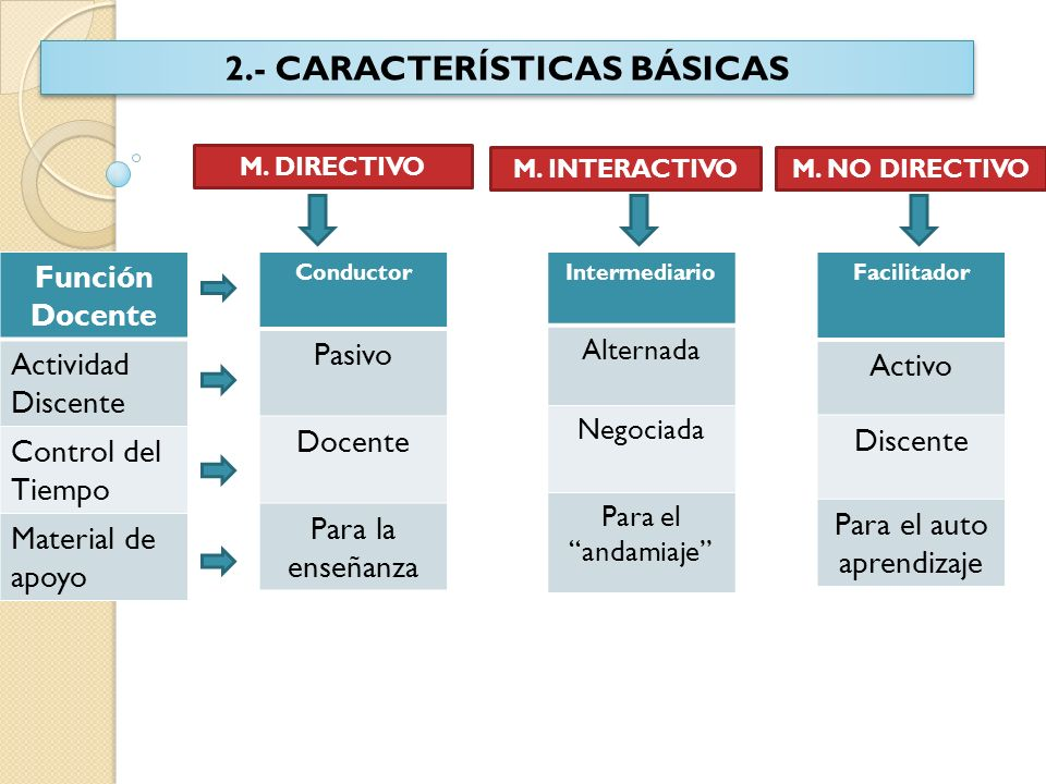 2.- CARACTERÍSTICAS BÁSICAS