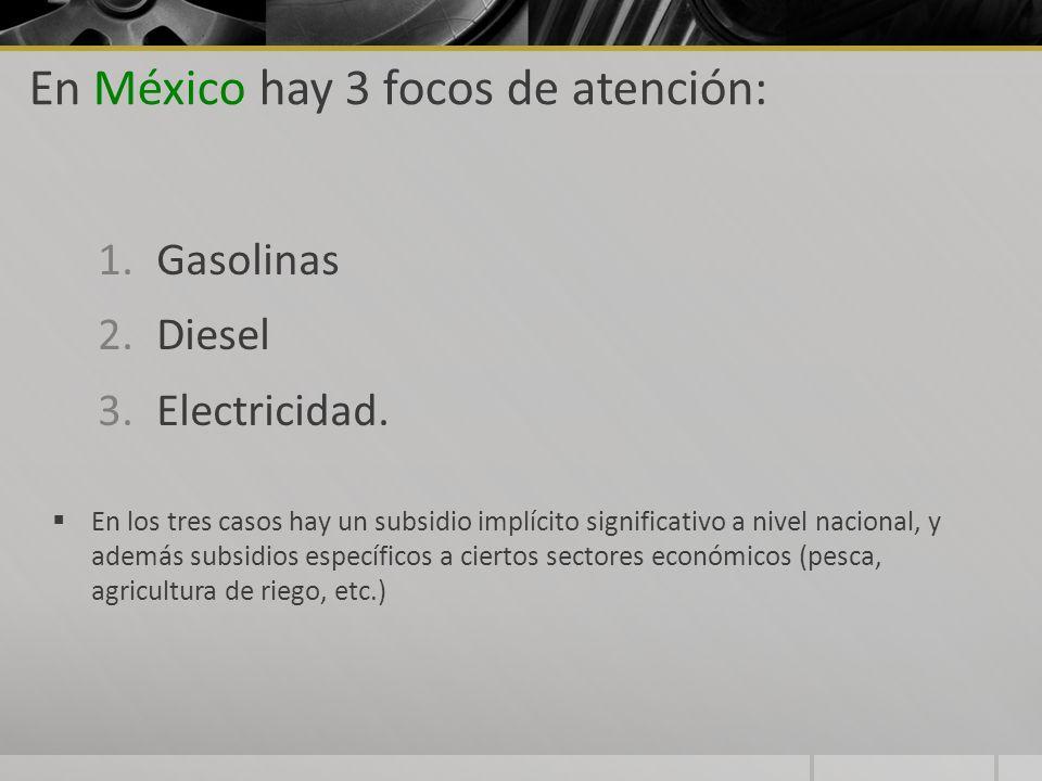 En México hay 3 focos de atención: