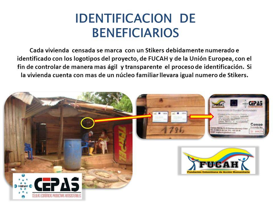 IDENTIFICACION DE BENEFICIARIOS