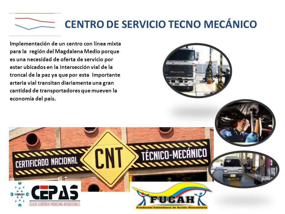 CENTRO DE SERVICIO TECNO MECÁNICO