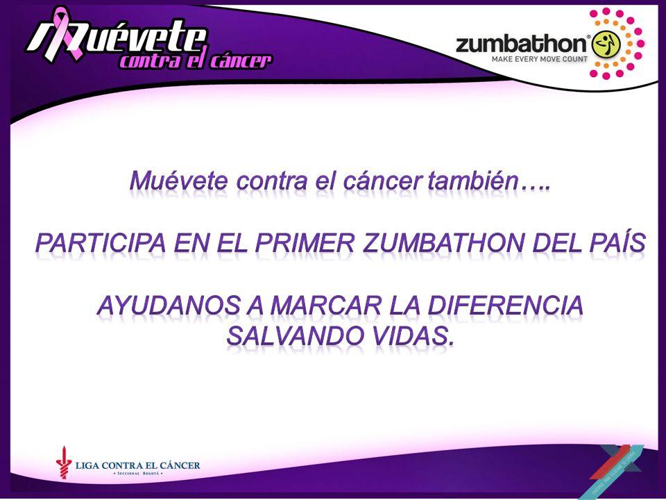 Muévete contra el cáncer también….