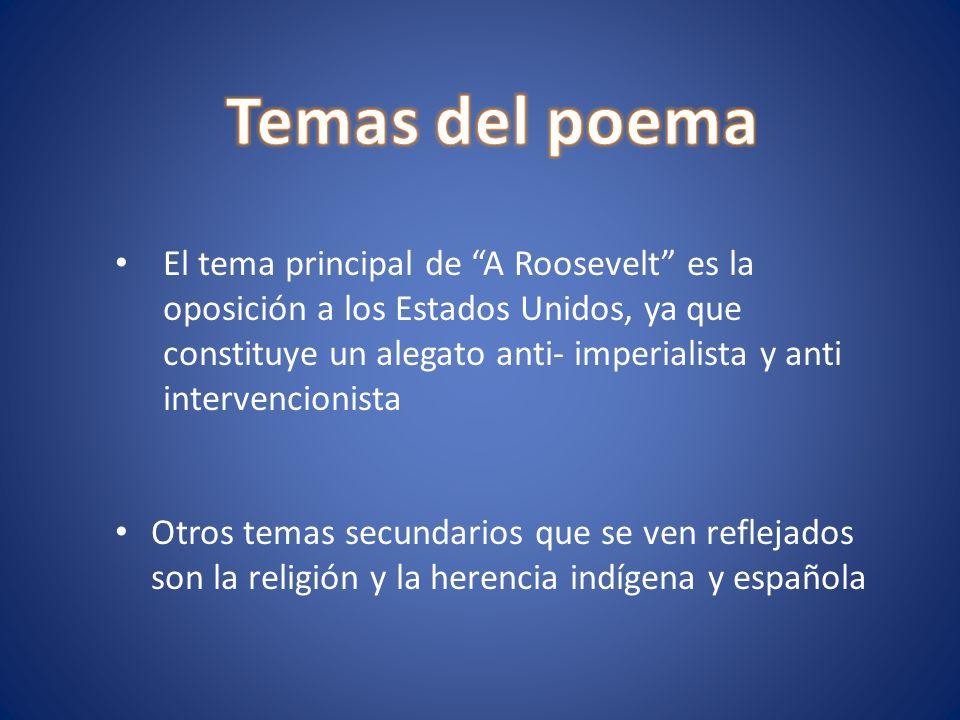 Temas del poema