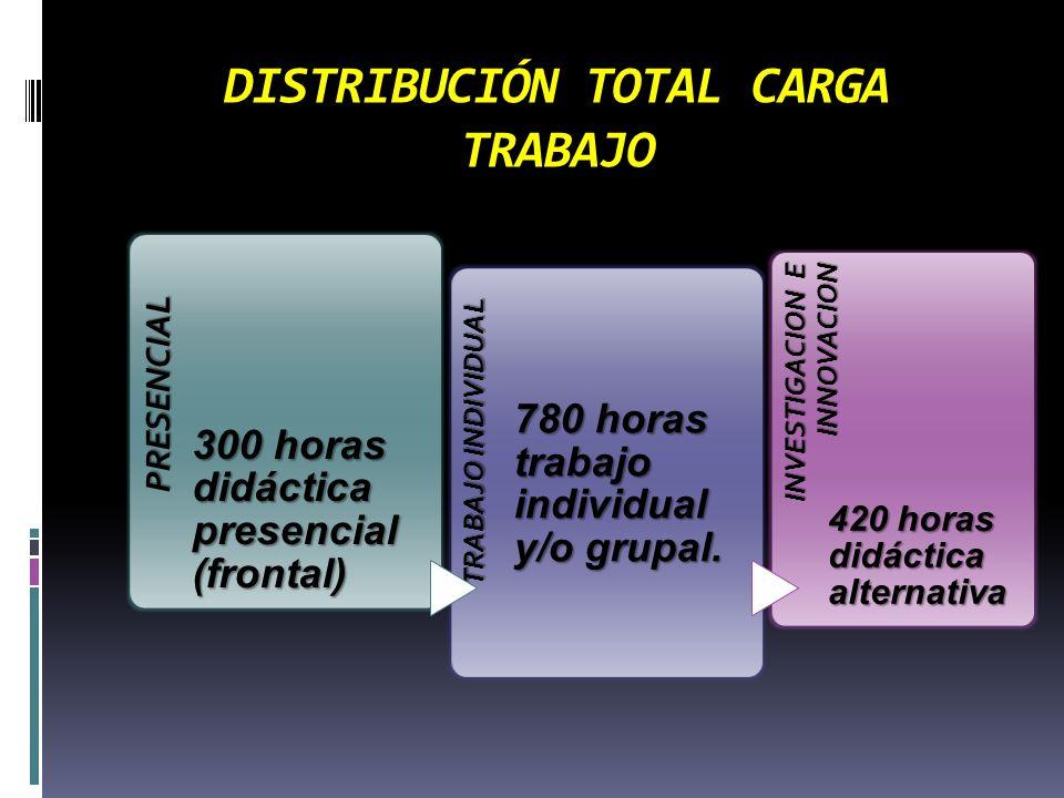 DISTRIBUCIÓN TOTAL CARGA TRABAJO