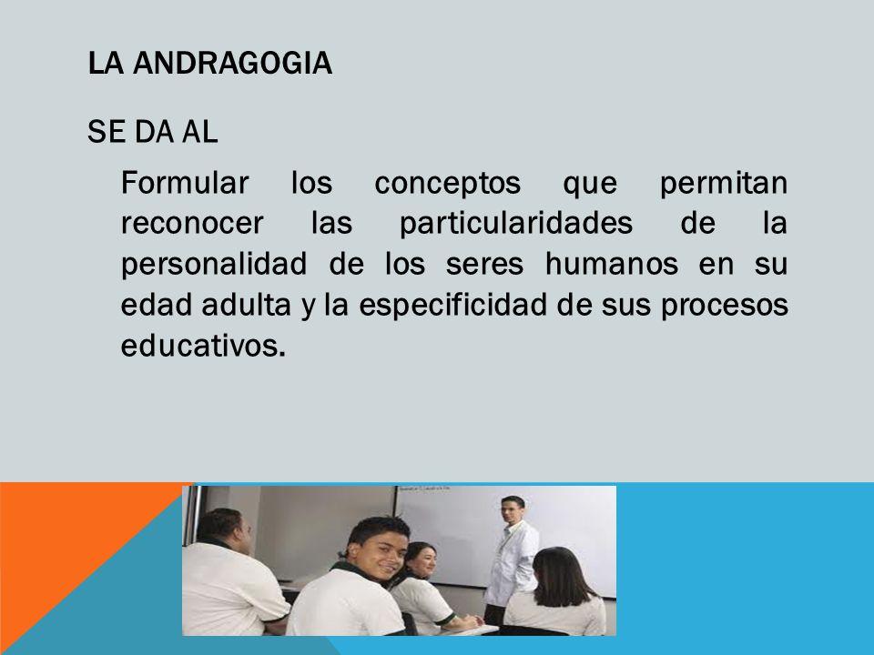 LA ANDRAGOGIA