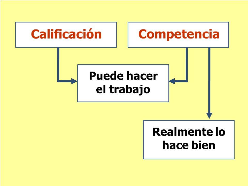 Calificación Competencia