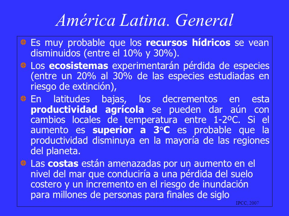 América Latina. General