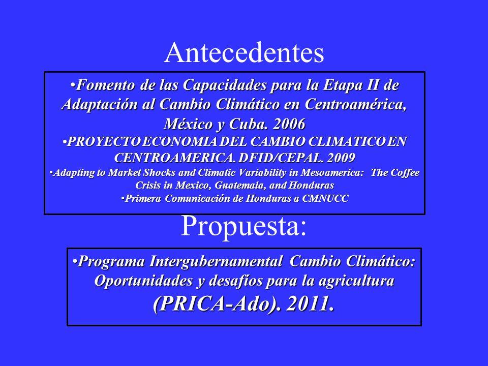Primera Comunicación de Honduras a CMNUCC