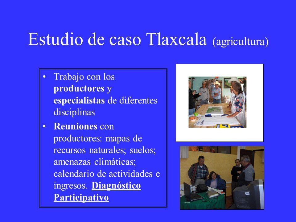 Estudio de caso Tlaxcala (agricultura)