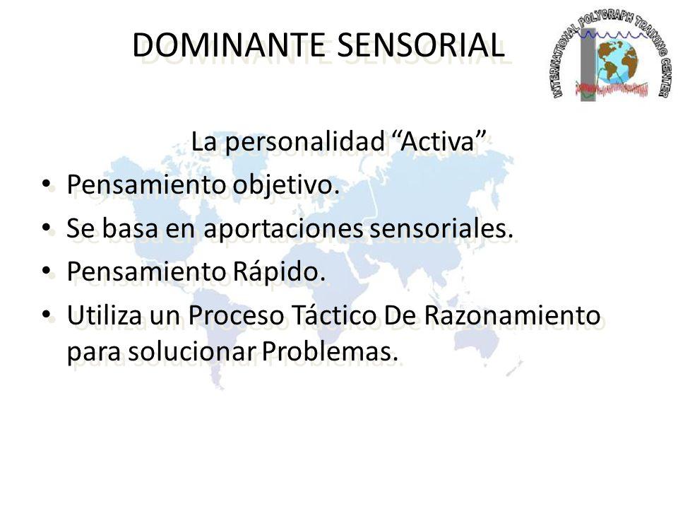 La personalidad Activa