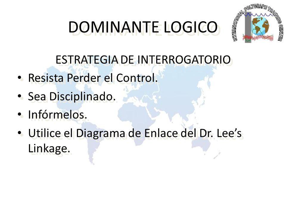 ESTRATEGIA DE INTERROGATORIO