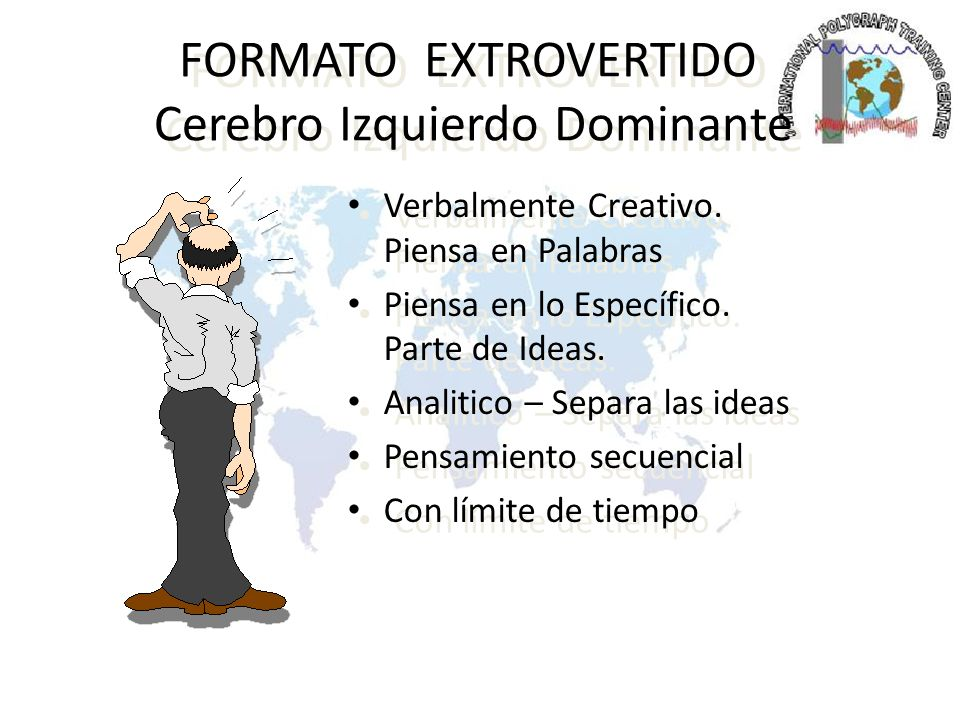 FORMATO EXTROVERTIDO Cerebro Izquierdo Dominante